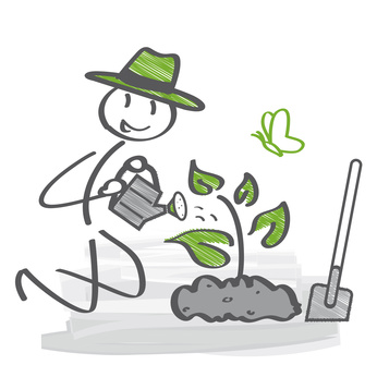 Schildkröten-Gärtner: Pflanzenzucht im Garten für Landschildkröten